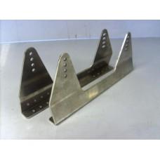 Alloy side mount seat brackets